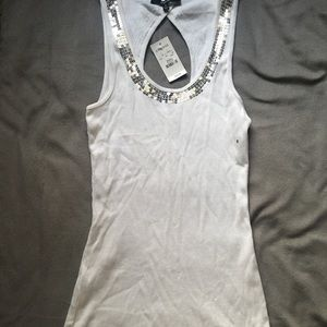 NWT Express Sequin Tank Top